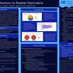 CURE: Engineering Undergraduate Research: Best Practices in Student Innovation