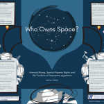 CURE: Interdisciplinary Undergraduate Research: Who Owns Space?